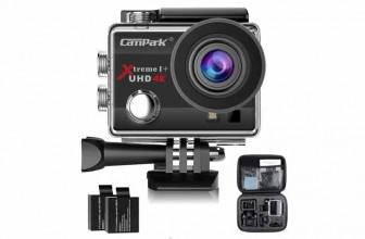 Campark ACT74 : filmer plus avec une caméra sport de qualité