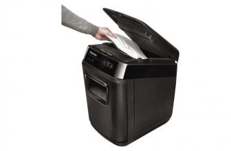 Fellowes AutoMax 200C – 200 Feuilles : protégez vos informations d'entreprise avec un destructeur de qualité