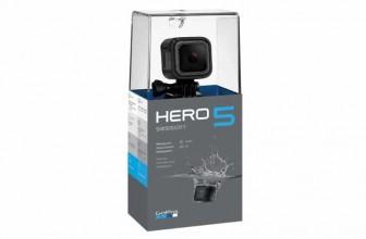 GoPro Hero 5 Session : une caméra sport de GoPro pour plus de polyvalence