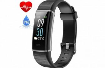 HETP Bracelet Connectée Noir : pourquoi choisir cette montre natation ?