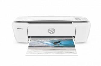 HP Deskjet 3720 : test complet et avis sur cette imprimante connectée