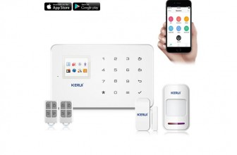 KERUI G18 Android – alarme maison : un bijou de technologie