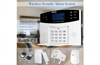 KKmoon GSM SMS : pourquoi choisir ce modèle d'alarme maison?