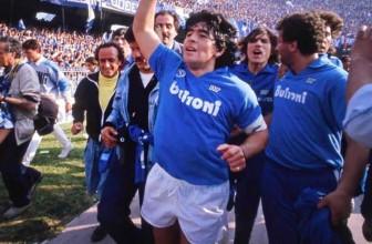 Maradona élu meilleur joueur de PES 2018