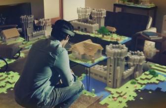 Une application de réalité augmentée pour Minecraft