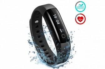 Mpow Bracelet Intelligent Sport : la montre natation futuriste hors du commun