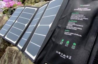 Test du chargeur solaire RAVPower 24W, faut-il l'acheter ?