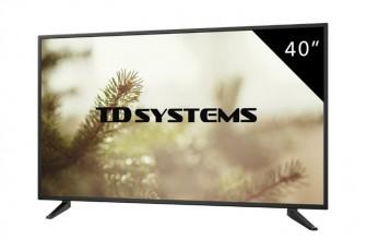 TD Systems K40DLM7F : un téléviseur moderne, mais simple