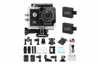 WiMiUS Q1 : une caméra sport unique, une qualité unique