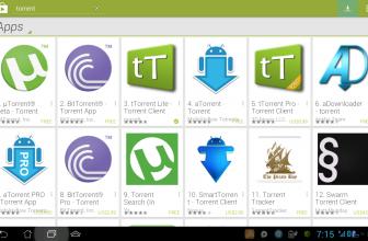 Les meilleures applications pour télécharger des torrents sous Android